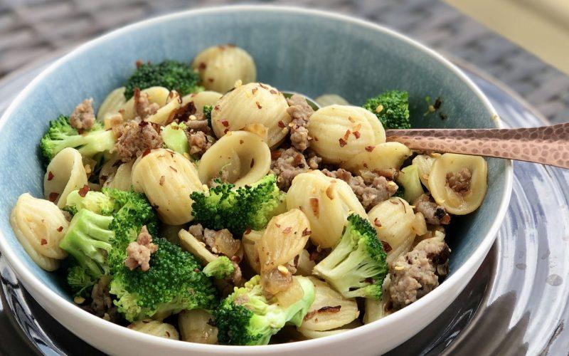 Orecchiette, Broccoli, & Sausage