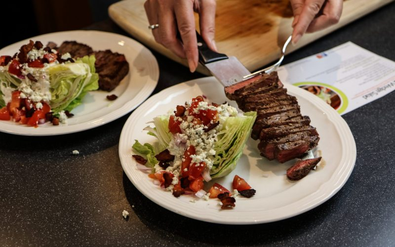 Steak with Wedge Salad