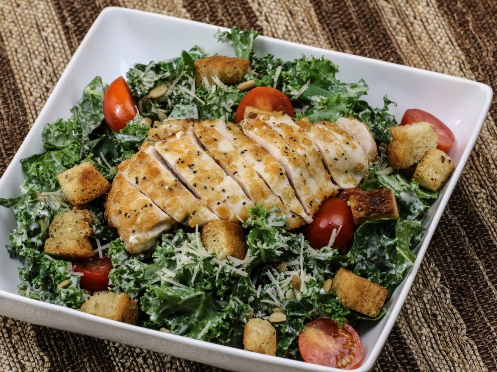 Hail Kale Chicken 'Caesar' Salad