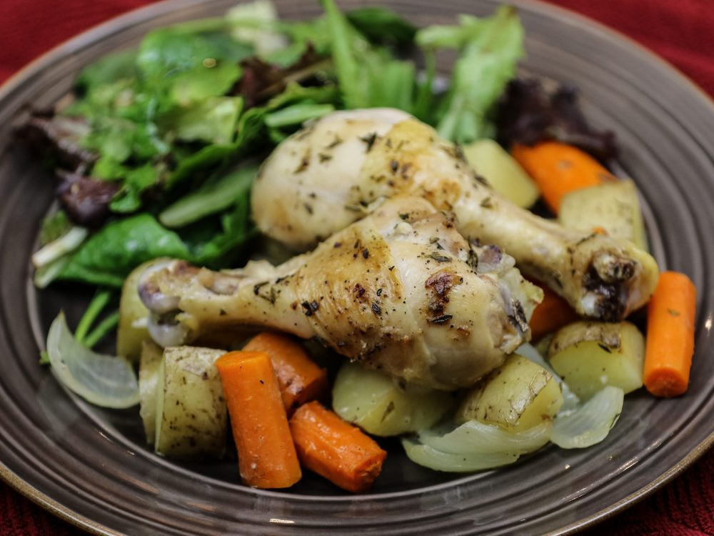 Herb Roasted Chicken Drumsticks