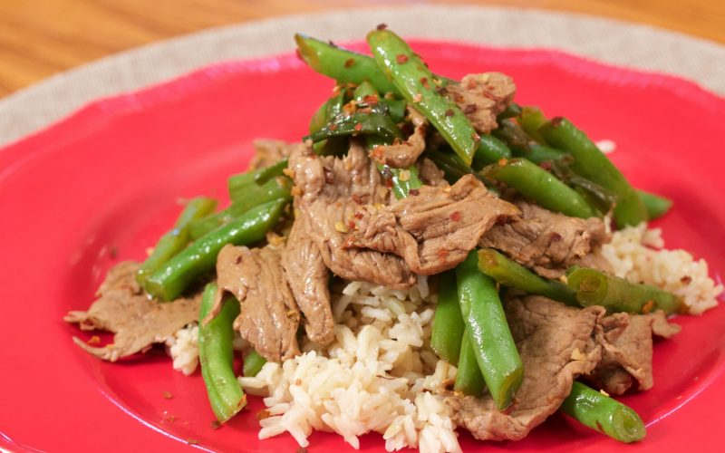 Steak & Green Bean Stir Fry