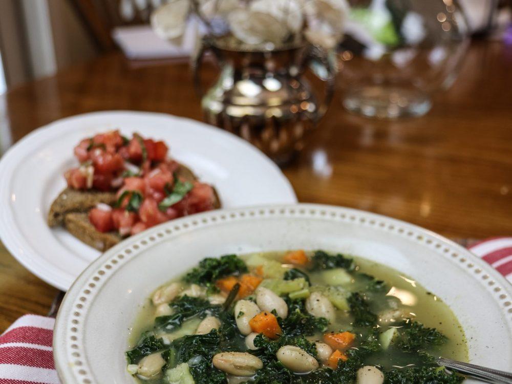 Tuscan Kale White Bean Soup