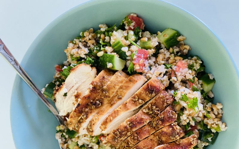 Ready-To-Eat: Tabbouleh Salad with Chicken
