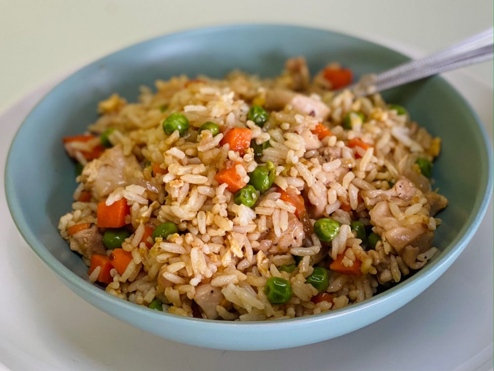 Ready-To-Eat: Chicken Fried Rice Bowl