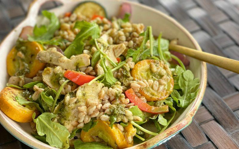 Ready-to-eat:  Farro Grain Bowl