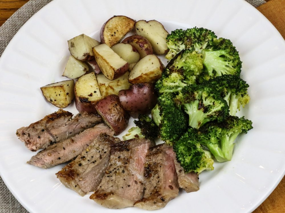 Steak & Roasted Broccoli