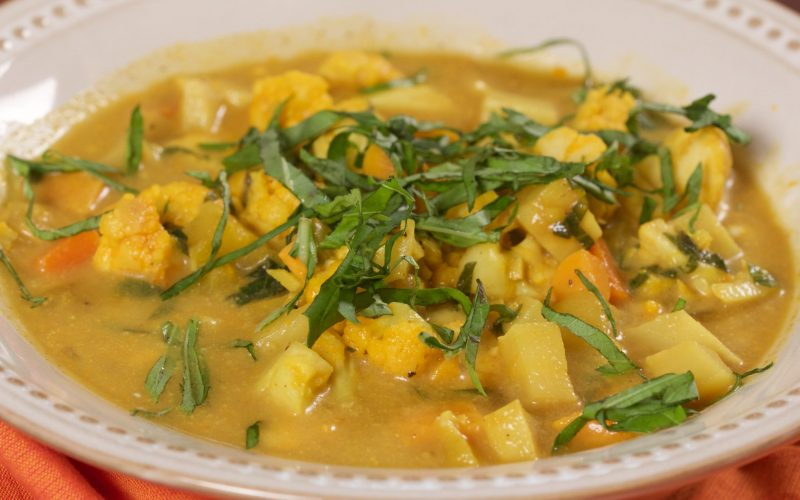 Coconut Curry Stew