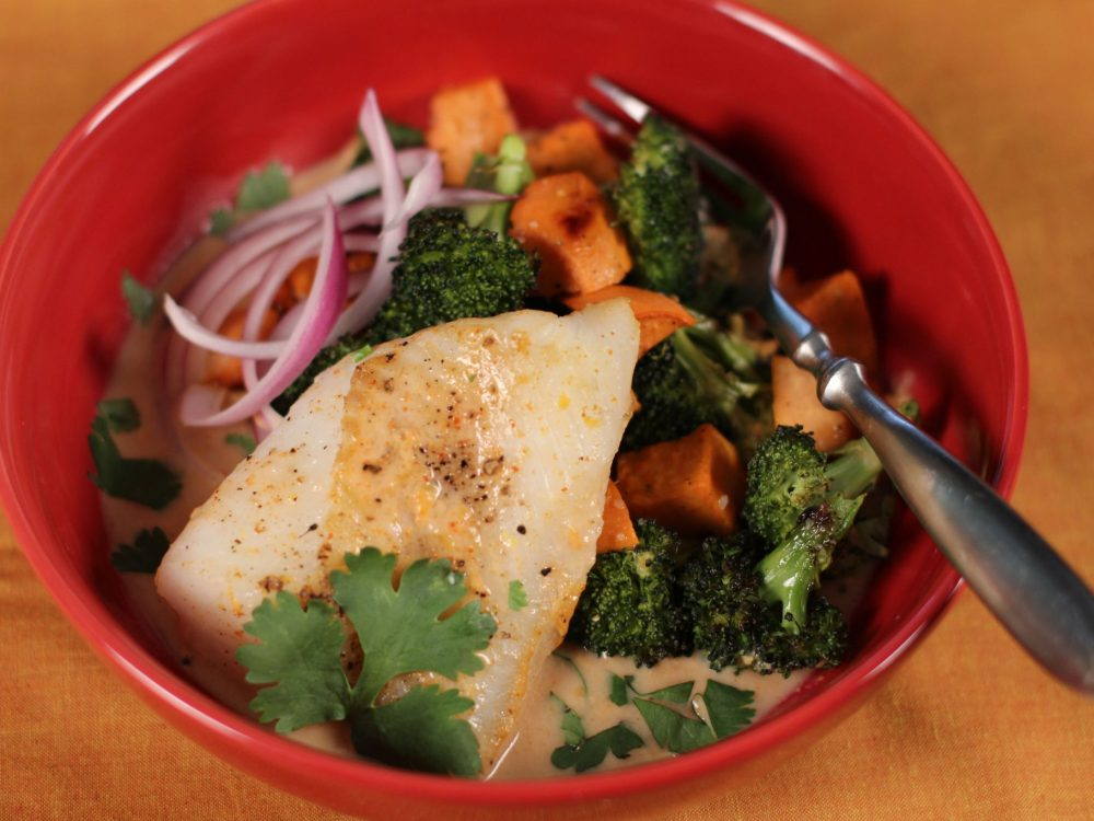 Coconut Curry Cod