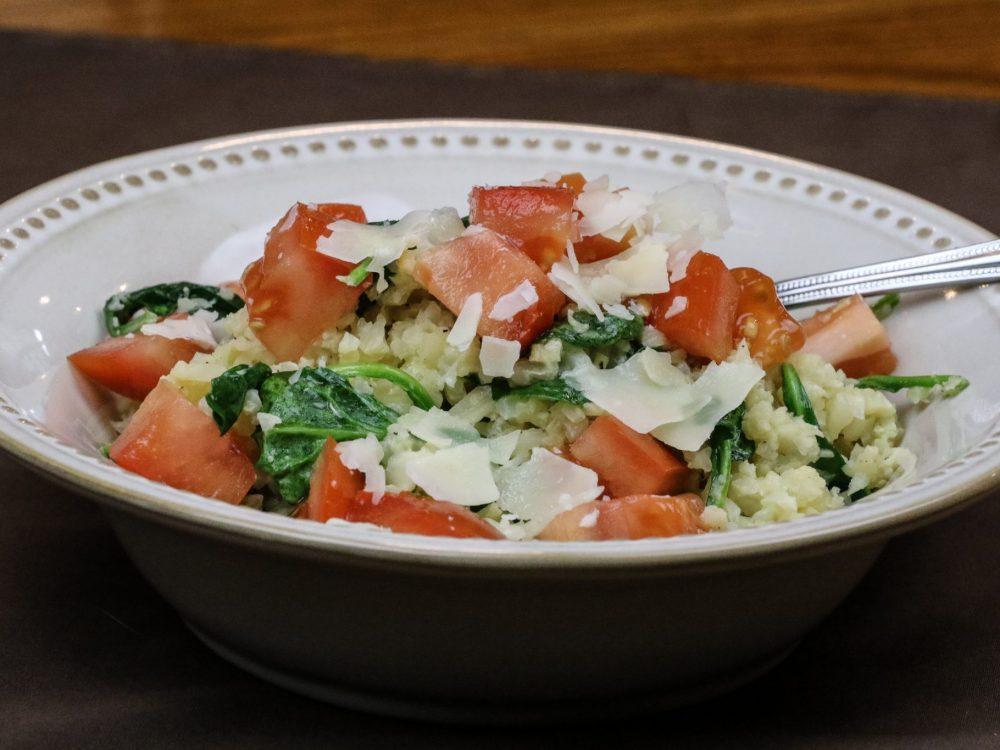 Cauliflower Rice Summer Skillet