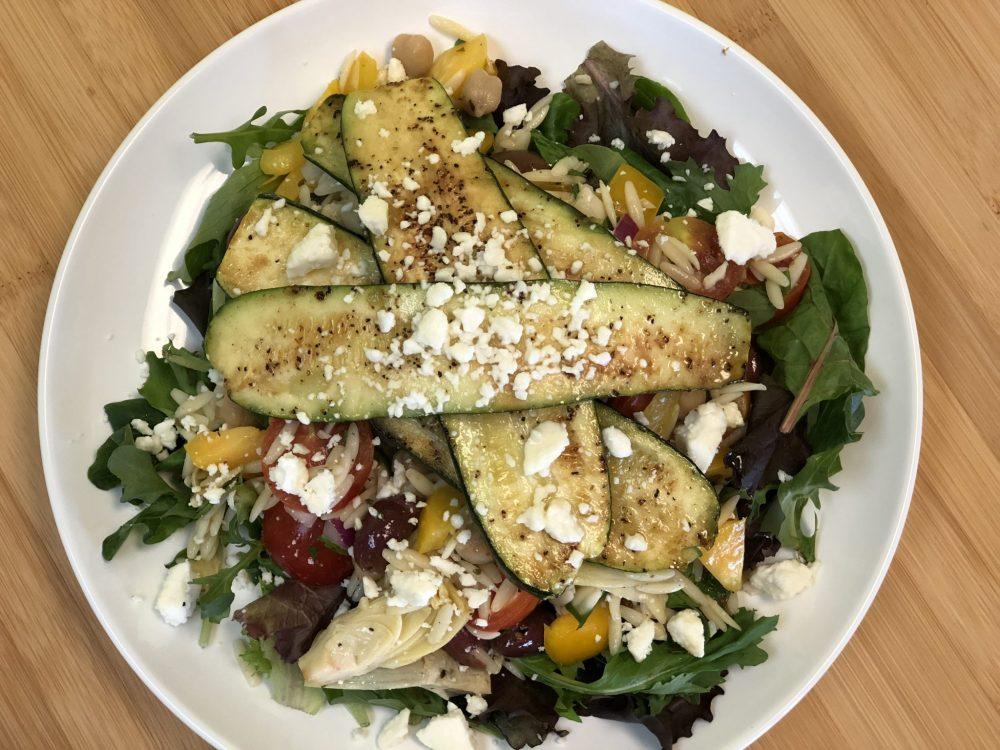 Zucchini & Mediterranean Orzo