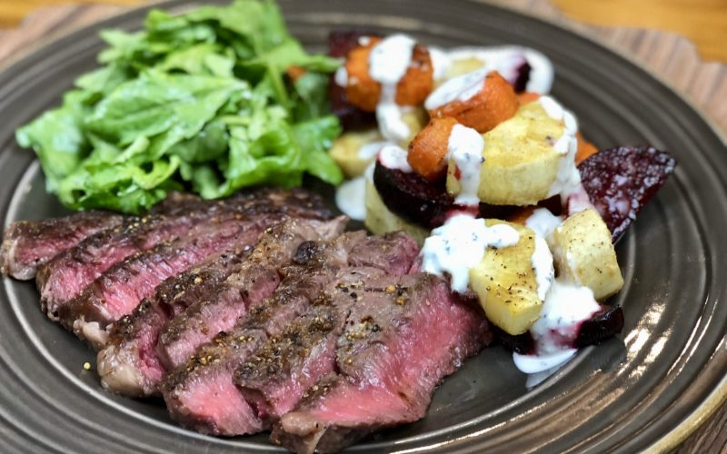 Steak & Ranch Root Veggies