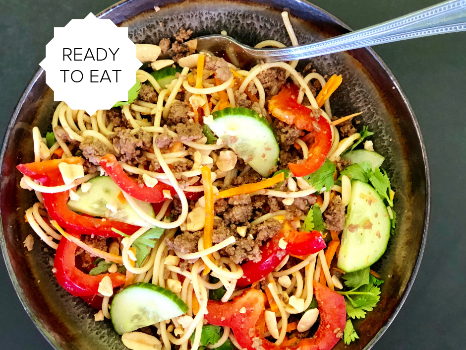 Ready-To-Eat: Thai Beef Noodle Bowl