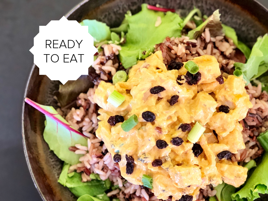 Ready-To-Eat: Turkey Curry Salad