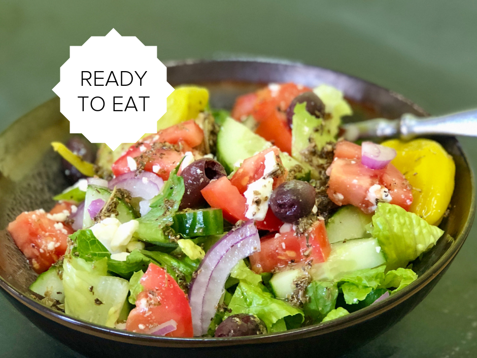 Ready-To-Eat: Greek Salad