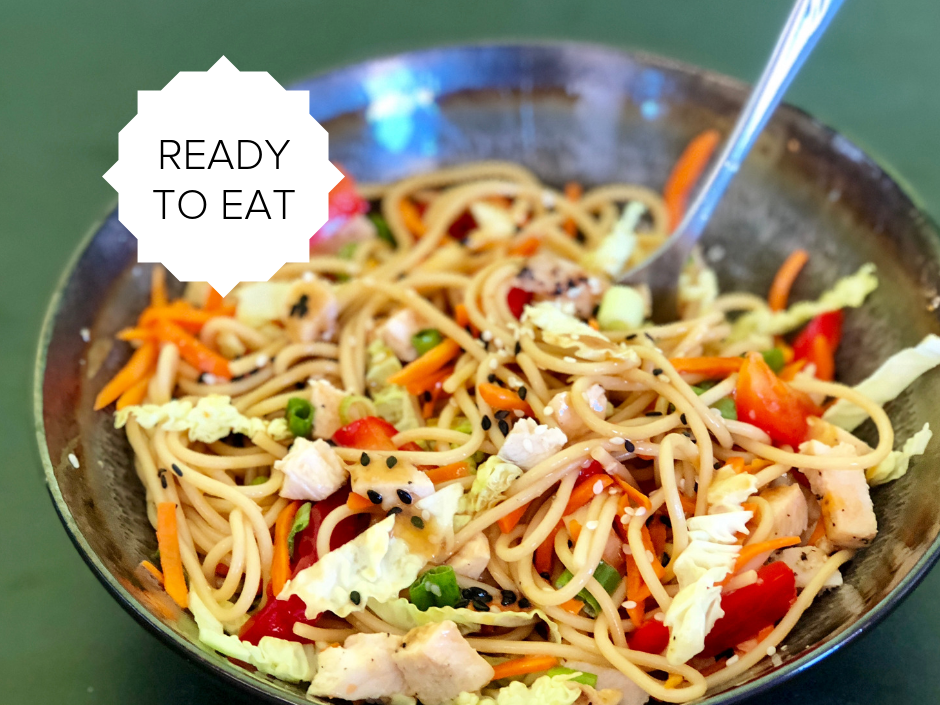 Ready-To-Eat: Skinny Chicken Lo Mein
