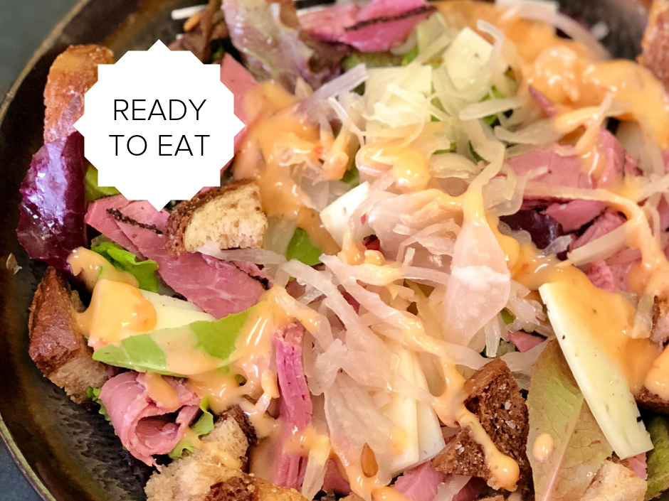 Ready-To-Eat: Deconstructed Reuben Salad