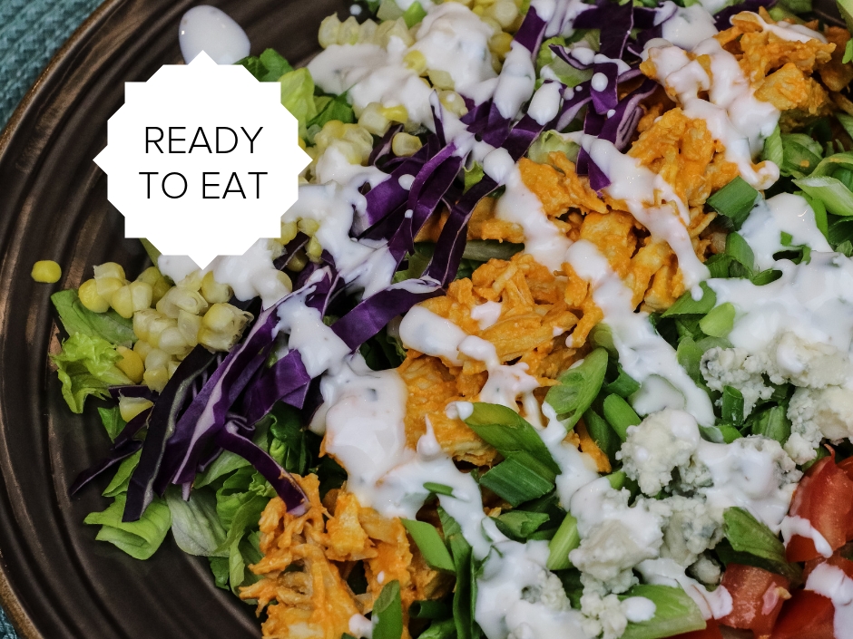 Ready-To-Eat: Buffalo Chicken Salad