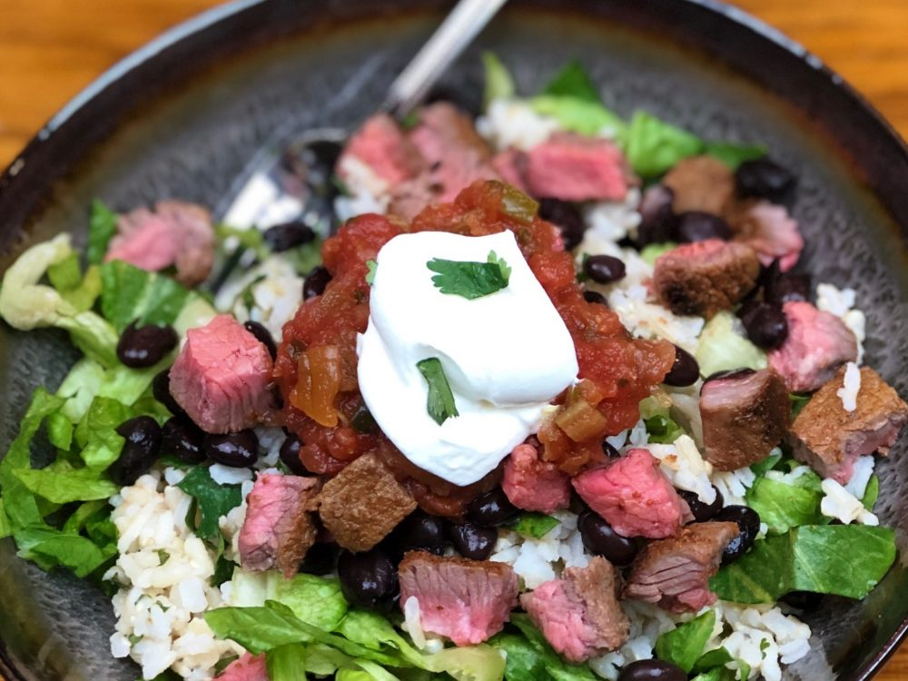 Ready-To-Eat: Steak Burrito Bowl