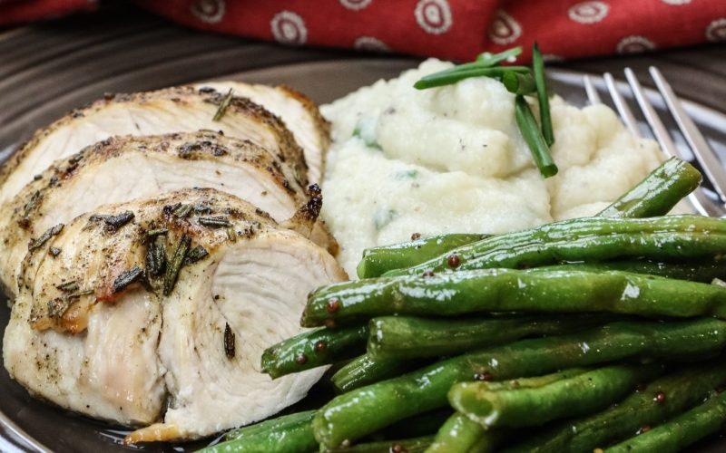 Rosemary Turkey & Cauliflower Mash