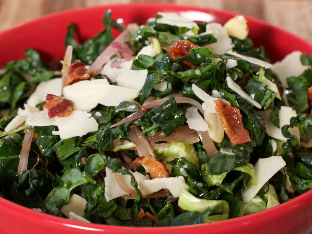 Ready-To-Eat: Bacon, Brussel, Kale Salad