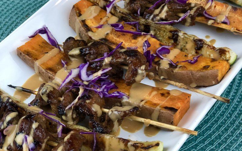 Beef Satay & Peanut Sauce