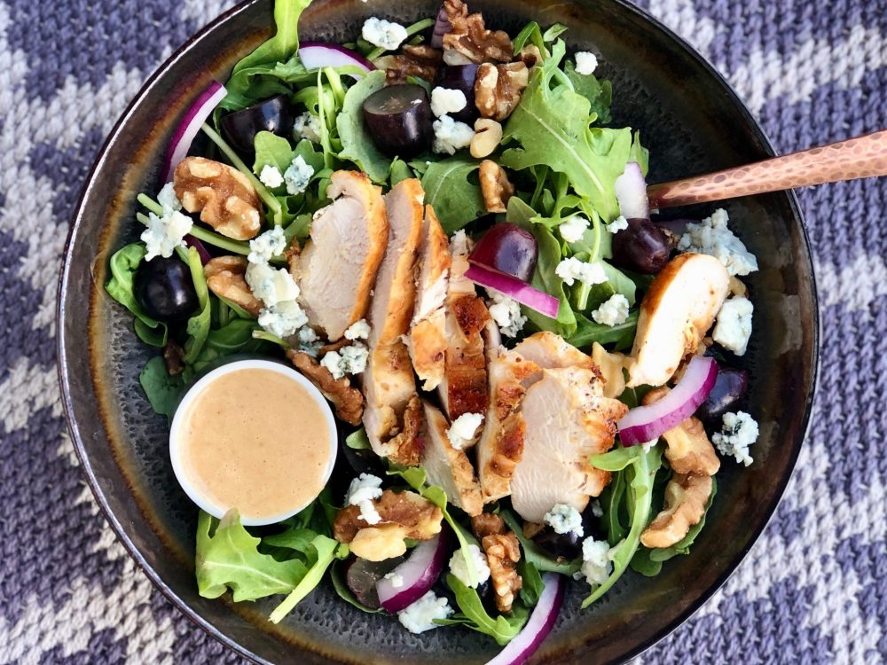 Ready-To-Eat: Walnut Arugula Salad